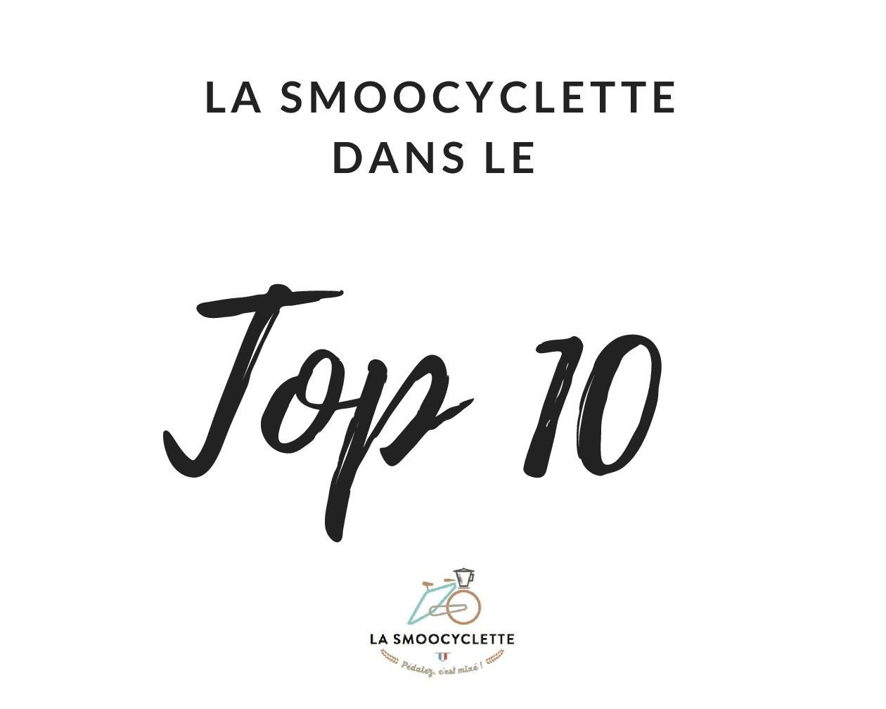 Vélo et innovation : La Smoocyclette dans le top 10 des start-up