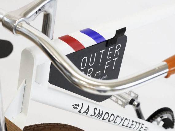 La personnalisation de notre vélo-smoothie Made In France