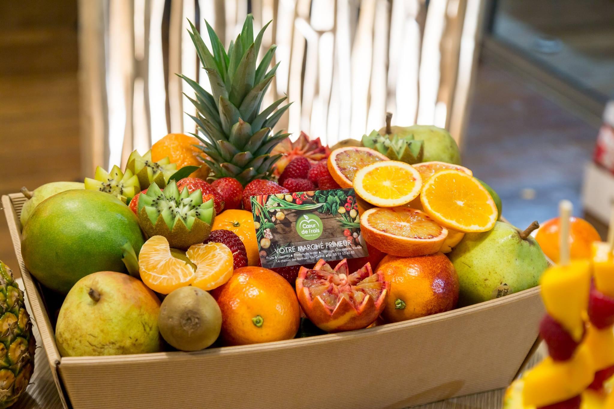 Les bons fruits de Coeur de Frais avec la Smoocyclette