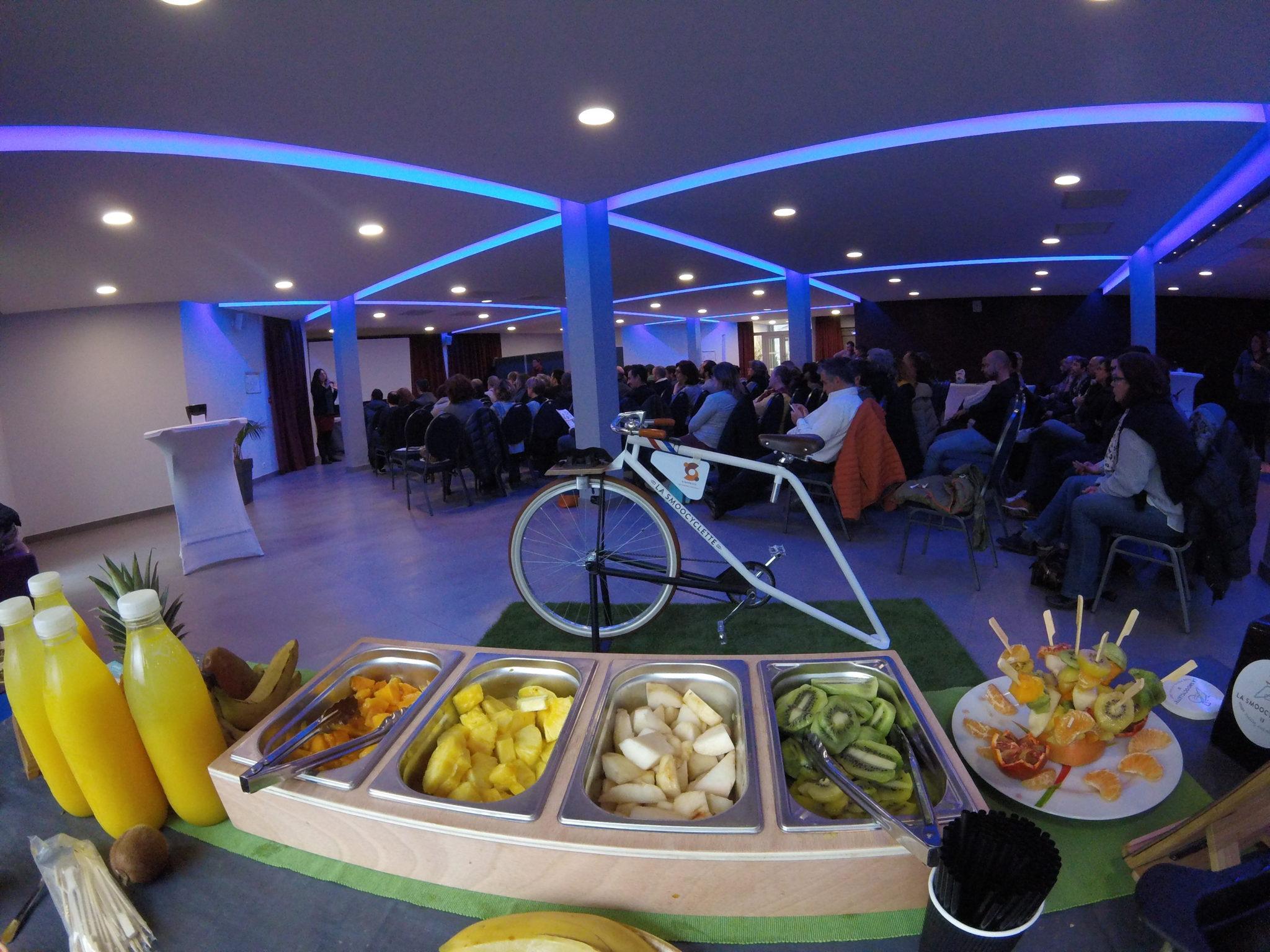 La Smoocyclette partenaire de Synergies