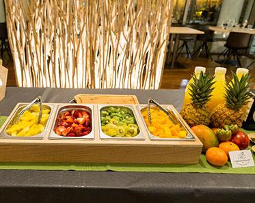 L'animation Poza Bar à jus de fruits et légumes