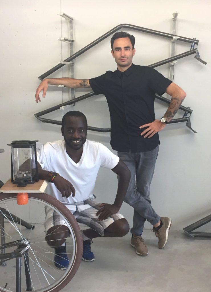 L'équipe du projet Smoocyclette