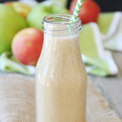Un smoothie pomme délicieux