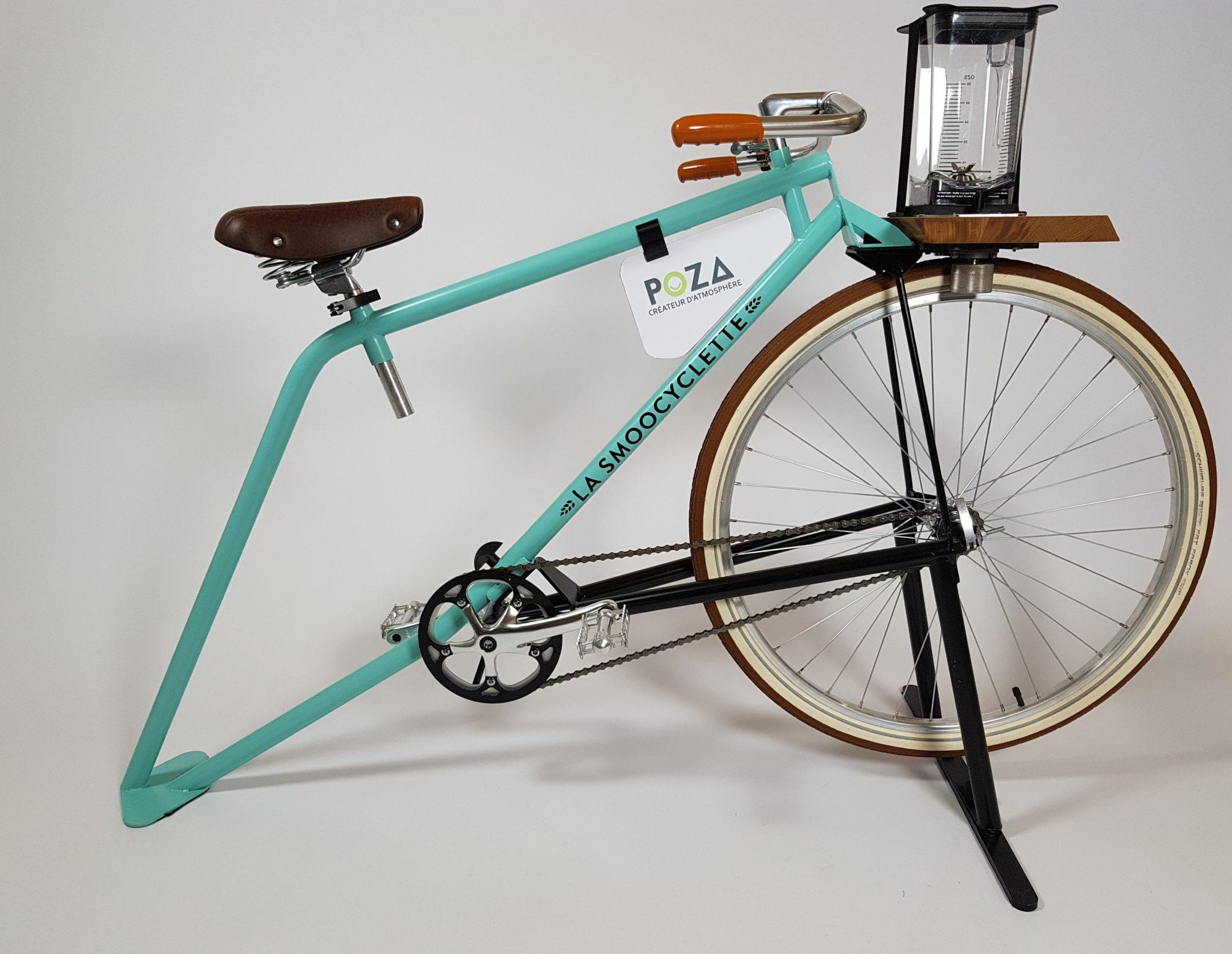 La Smoocyclette® V2, une nouvelle version de votre Vélo Smoothie