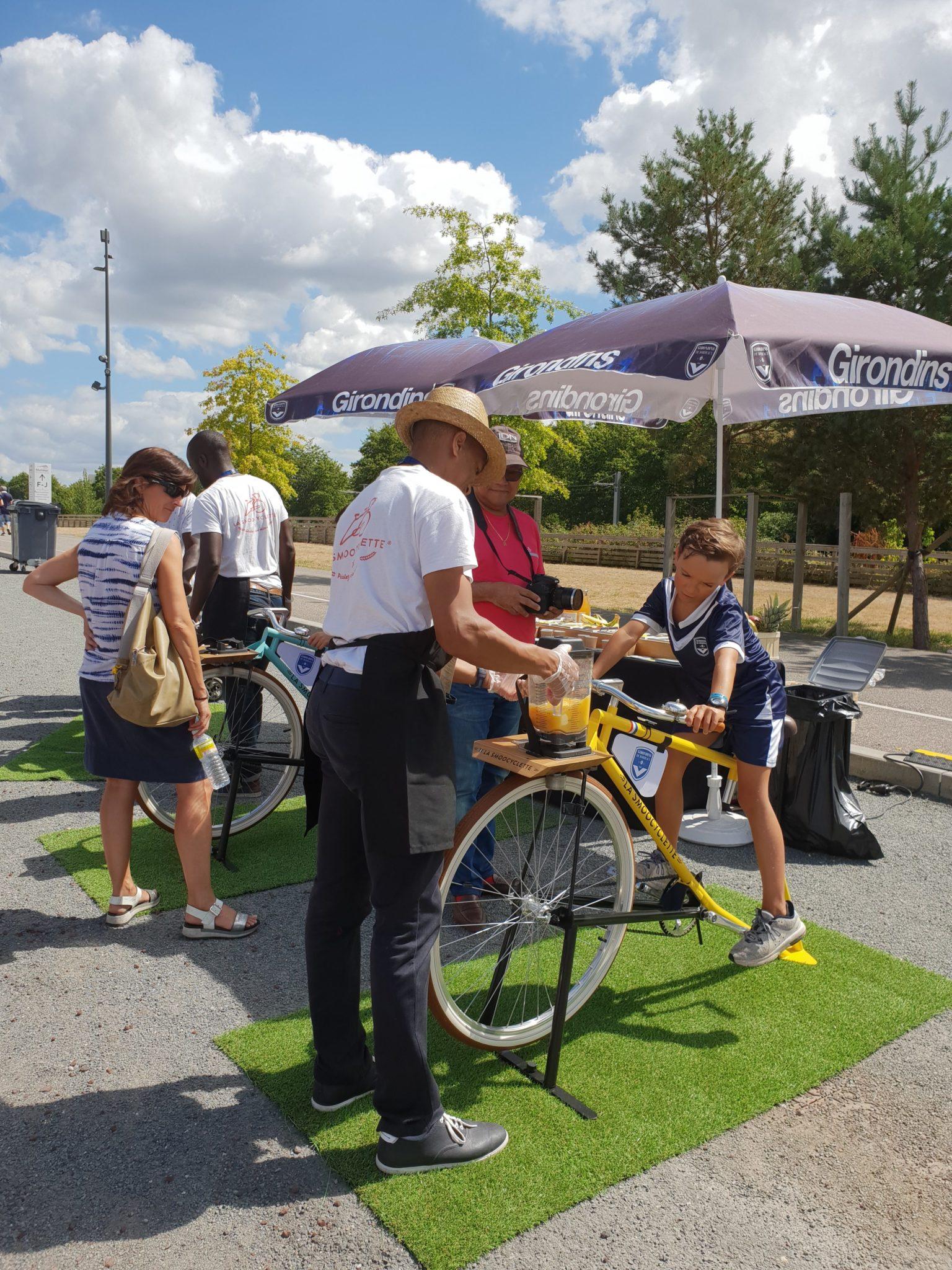 La Smoocyclette chez les Girondins.
